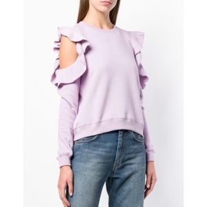 Rebecca Minkoff Cold Shoulder Sweatshirt